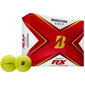 Bridgestone Tour B RX Yellow Golf Balls 2020