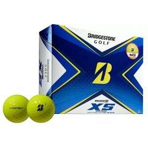 Bridgestone Tour B XS Yellow Golf Balls