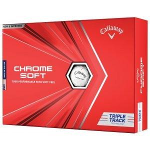 Callaway Chrome Soft Triple Track Golf Balls 2020