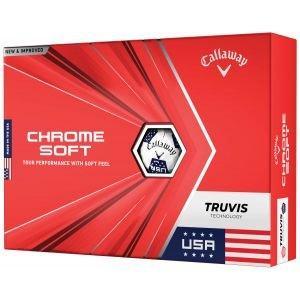 Callaway Chrome Soft Truvis USA Golf Balls
