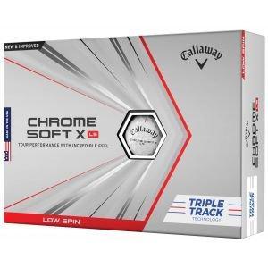 Callaway Chrome Soft X LS Triple Track Golf Balls Packaging