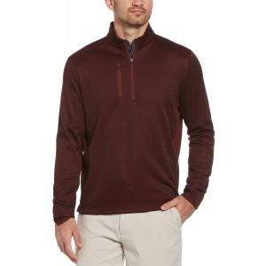 Callaway Dual Action Aquapel Block Swing Tech 1/4 Zip Golf Pullover