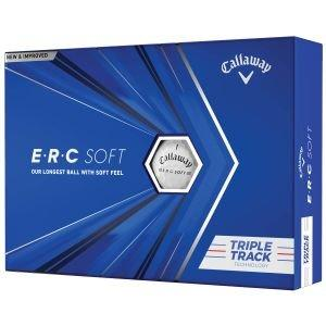 2021 Callaway ERC Soft Triple Track Golf Balls Packaging