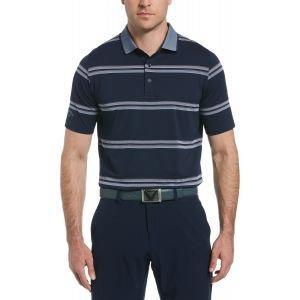 Callaway Oxford Stripe Golf Polo Shirt