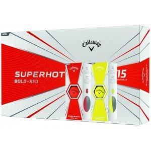 Callaway Superhot Golf Balls 2020 - Bold Matte Colors