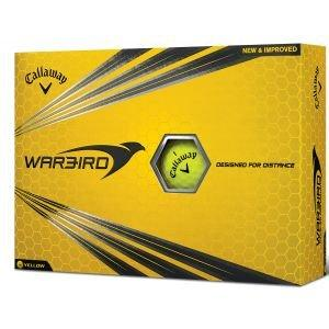 Callaway Warbird Golf Balls Yellow - ON SALE