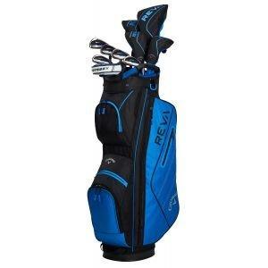 Callaway Womens REVA 11-Piece Complete Golf Package Set Blue
