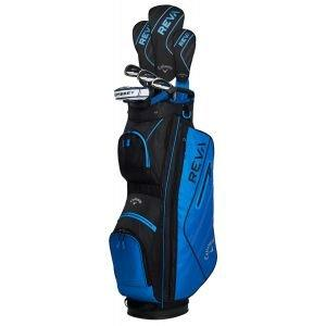 Callaway Womens REVA 8-Piece Complete Golf Package Set Blue