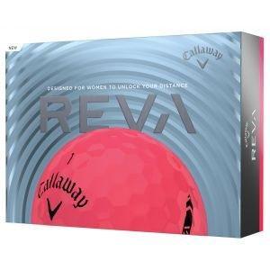 Callaway Women's REVA Golf Balls Pink Packaging
