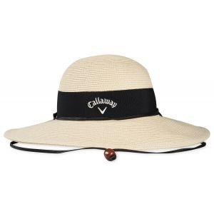 Callaway Womens Straw Sun Golf Hat