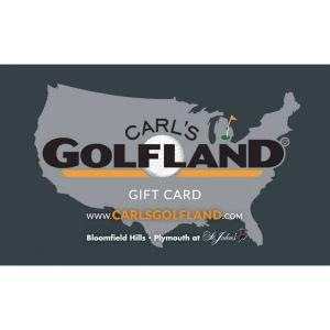 Carl's Golfland Gift Card