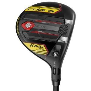 Cobra King Speedzone Fairway Woods Gloss Black Yellow