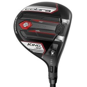 Cobra King Speedzone Fairway Woods 2020 - Matte Black/White