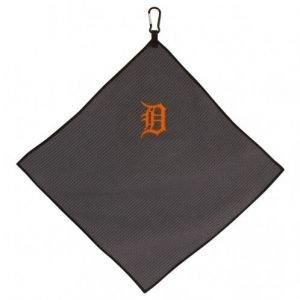 Detroit Tigers Grey Microfiber Golf Towel
