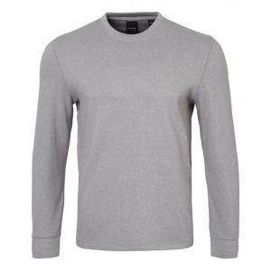Dunning Cadboll Crew Neck Fleece Golf Sweater - ON SALE - GREY HEATHER - XXL