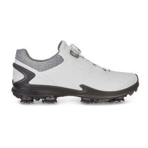 Ecco BIOM G 3 Boa Golf Shoes - Shadow White