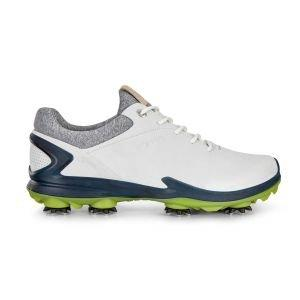 Ecco BIOM G 3 Golf Shoes Shadow White/Dark Petrol