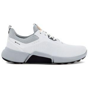 ECCO BIOM H4 Golf Shoes White/Concrete