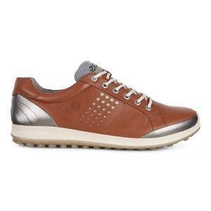 Ecco BIOM Hybrid 2 Golf Shoes Mahogany/Oyster - ON SALE
