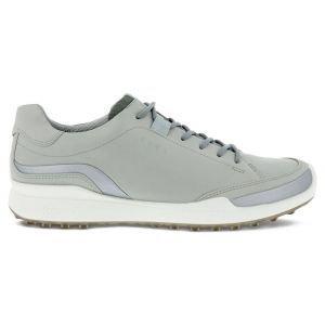 ECCO BIOM Hybrid Laced Golf Shoes Concrete/Silver Metallic/Concrete