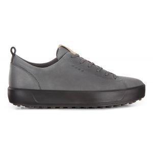 Ecco Golf Soft Golf Shoes Dark Shadow - ON SALE