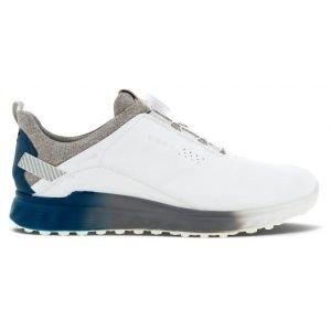 ECCO S-Three Boa Golf Shoes White/Seaport