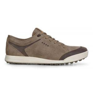 ECCO Street Retro LX Golf Shoes Birch/Coffee On Sale