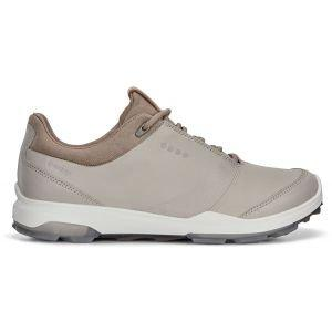 Ecco Womens BIOM Hybrid 3 GTX Golf Shoes - Gravel