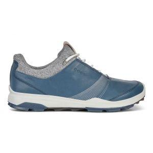Ecco Womens BIOM Hybrid 3 GTX Golf Shoes Denim Blue - ON SALE