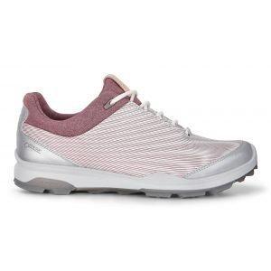 Ecco Womens Biom Hybrid 3 GTX Golf Shoes White/Black Transparent