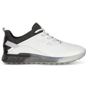Ecco Womens S-Three Golf Shoes - White