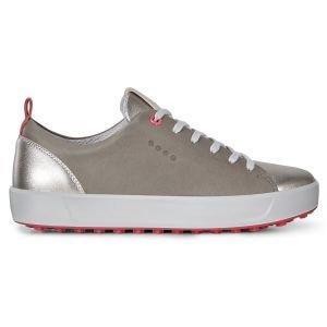 Ecco Womens Soft Golf Shoes - Warm Grey
