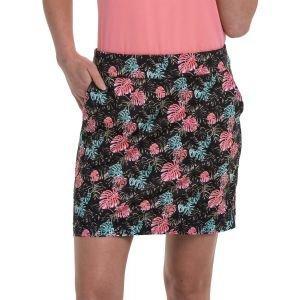"""EPNY Women's 17.5"""" Rainforest Layered Leaves Print Golf Skort"""