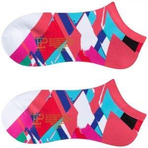 EPNY Women's Crosshatch Print Sport Golf Socks