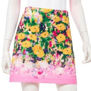 "EPNY Women's Monet Watercolor Floral Border Print 19"" Golf Skort"
