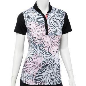 EPNY Women's Palm Frond Ombre Golf Polo