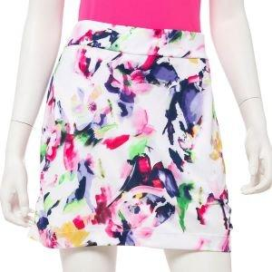 "EPNY Women's Watercolor Spaced Floral Print 17.5"" Golf Skort"