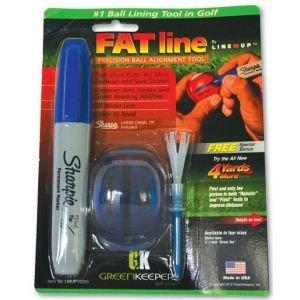 Fat Line Em Up Golf Ball Alignment Tool
