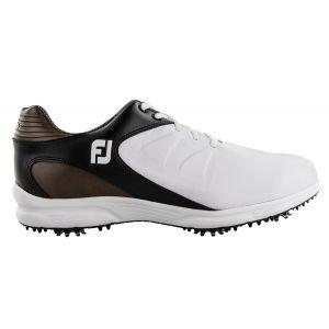 FootJoy Arc XT Golf Shoes White/Black/Brown 59742 - ON SALE