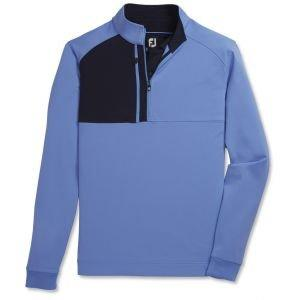 FootJoy Pique Sport Mid-Layer Golf Pullover Lagoon 25207