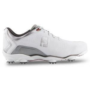 FootJoy Dna Helix Golf Shoes White/Silver - 53341