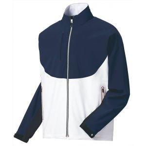 FootJoy Dryjoys Tour LTS Golf Rain Jacket Navy/White/Red - 35371
