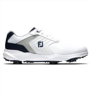 FootJoy eCOMFORT Golf Shoes White/Grey/Blue 2020
