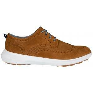 FootJoy Flex LE1 Golf Shoes 2020 Tan Suede - 56111