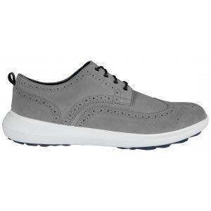 FootJoy Flex LE1 Golf Shoes 2020 Grey Suede - 56113