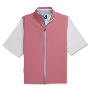 FootJoy Full-Zip Knit Golf Vest Cape Red 25191
