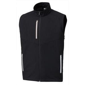 FootJoy Full-Zip Lightweight Softshell Golf Vest Black - 25018