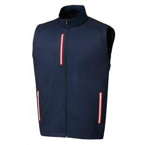 FootJoy Full-Zip Lightweight Softshell Golf Vest Navy - 25017