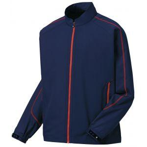 FootJoy Full-Zip Sport Golf Windshirt Navy/Red 32643