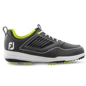 FootJoy Fury Golf Shoes 2019 Grey/Lime - 51102